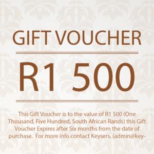 R1 500 Gift Voucher