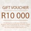 R10 000 Gift Voucher