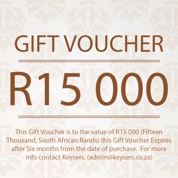 R15 000 Gift Voucher