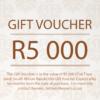 R5 000 Gift Voucher