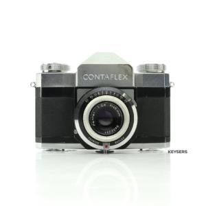 Zeiss Ikon ContaFlex 45mm f2.8 75mm f4 Lens