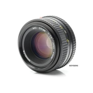 Minolta 50mm f1.7 MD Lens (Minolta MD/MC Mount)