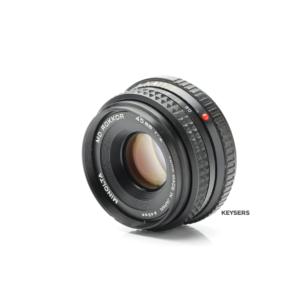 Minolta MD Rokkor 45mm f2 Lens
