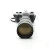 Pentax ESII + Yashica 75-230mm f4.5 Lens