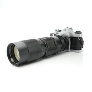 Pentax ESII   Yashica 75-230mm f4.5 Lens