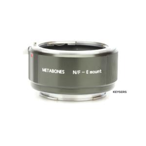 Metabones Speedbooster Nikon F mount to Sony E Mount