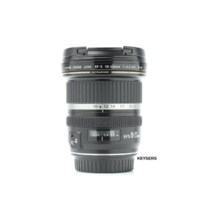 Canon 10-22mm f3.5-4.5 USM Lens (Top)