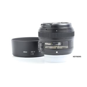 Nikon 50mm AF f1.8 G Lens (Bundle)