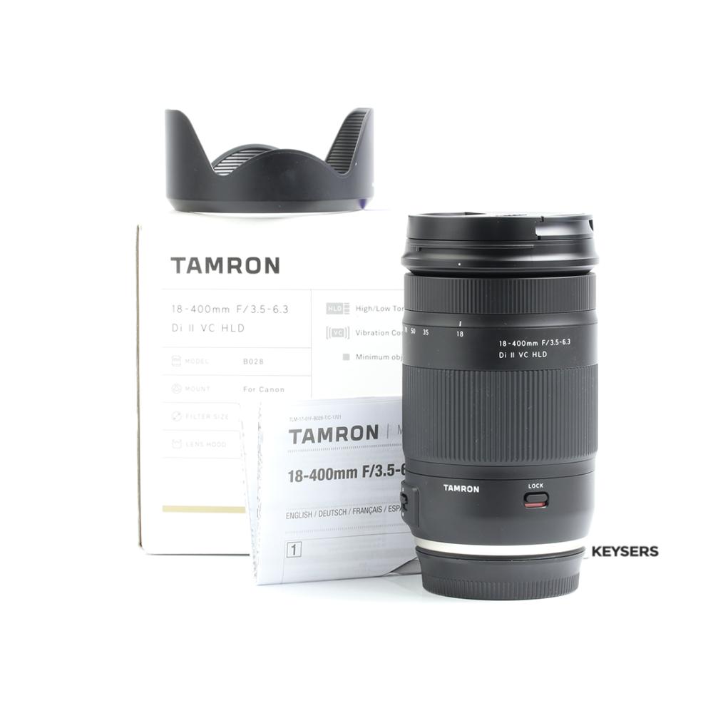 Tamron 18 400mm F35 63 Di Ii Vc Hld Lens For Canon Keysers 200mm F 35 Nikon