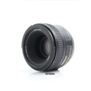 Nikon 50mm AF f1.8 G Lens