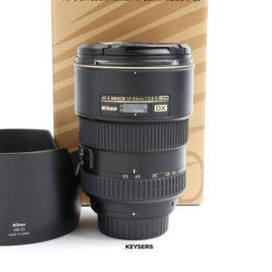 Nikon 17-55mm 2.8G ED Lens