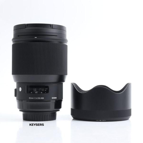 Sigma 85mm F1.4 DG ART (Canon Mount)