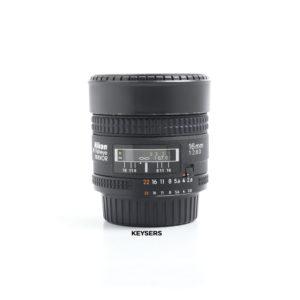 Nikon 16mm F2.8 D AF Lens