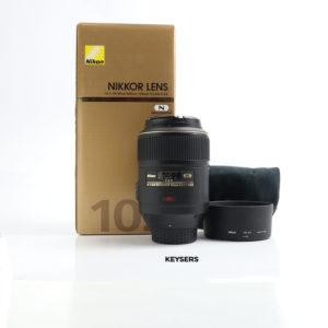Nikon 105mm F2.8 G ED VR Micro Lens