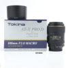 Tokina 100mm F2.8 D AF Macro (Nikon Mount)