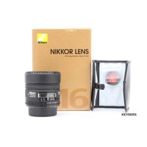 Nikon AF 16mm F2.8 D Fisheye Lens