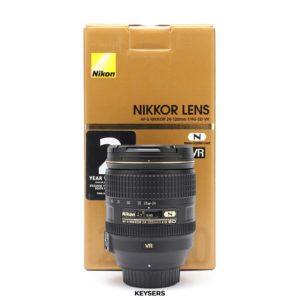 Nikon AF-S 24-120mm f4 G ED VR N Lens