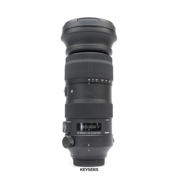 Sigma 60-600mm f4.5-6.3 DG OS HSM Sport Lens (Canon Mount)
