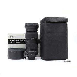 Sigma 60-600mm f4.5-6.3 DG OS HSM Sport Lens(Nikon Mount)