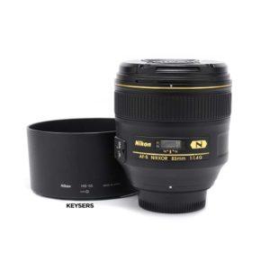Nikon AF-S 85mm f1.4 G Lens