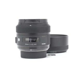 Sigma 30mm f1.4 DC ART Lens (Nikon Mount)