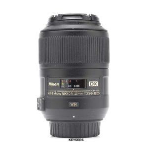 Nikon AF-S Micro 85mm f3.5 G ED DX VR Lens