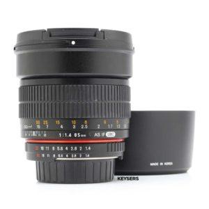 Samyang 85mm f1.4 AS IF UMC Lens (Nikon Mount)