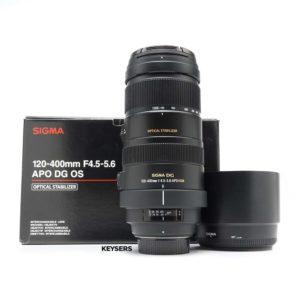 Sigma 120-400mm f4.5-5.6 APO DG OS Lens (Nikon Mount)