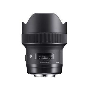 Sigma 14mm f1.8 DG HSM Art Lens Nikon F (front)