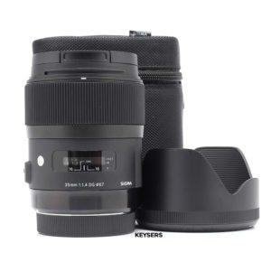 Sigma 35mm f1.4 DG ART Lens (Canon Mount)