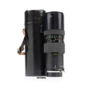 Soligor 85-300mm f5 Lens (M/MD Mount)