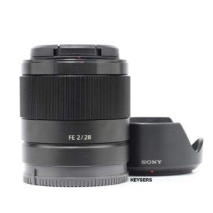 Sony FE 28mm f2 Lens
