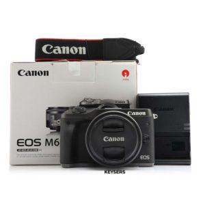 Canon EOS-M6 Bundle