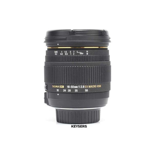 Sigma 18-50mm f2.8 EX Macro HSM DC Lens (Nikon Mount)