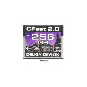 Delkin Devices 256GB CFast 2.0 CF Card