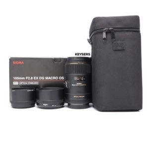 Sigma 105mm f2.8 EX DG Macro OS Lens (Canon Mount)