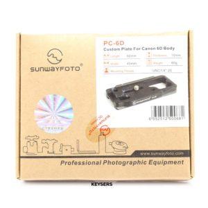 Sunwayfoto PC-6D Custom Quick-Release Plate