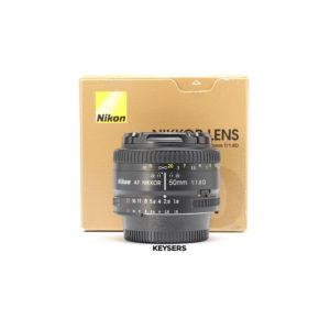 Nikon AF 50mm f1.8 D Lens