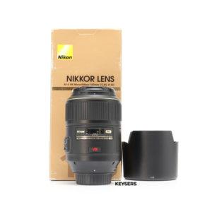 Nikon AF-S 105mm f2.8 G ED VR Micro Lens