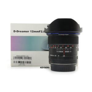 Laowa 12mm f2.8 Zero-D Lens (Canon Mount)