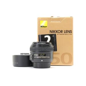 Nikon AF-S 50mm f1.8 G Lens