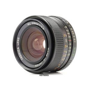 Yashica 28mm f2.8 Lens (Minolta Mount)