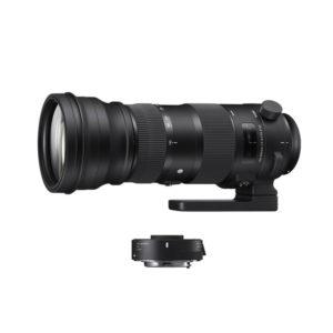 Sigma 150-600mm f5-6.3 DG OS HSM Sport Lens + TC-1401 Converter (Nikon F Mount)