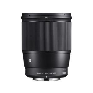 Sigma 16mm f1.4 DC DN Contemporary Lens (Canon EOS M Mount)