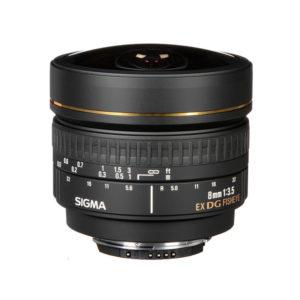 Sigma 8mm f3.5 EX DG Fisheye Lens (Nikon F Mount)