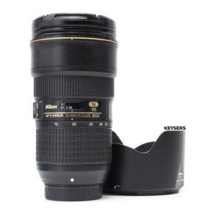 Nikon AF-S 24-70mm f2.8 E ED N VR Lens