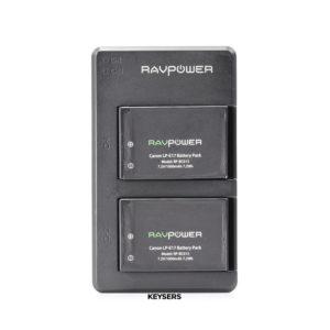 RAV Power Charger + 2 RAV Batteries