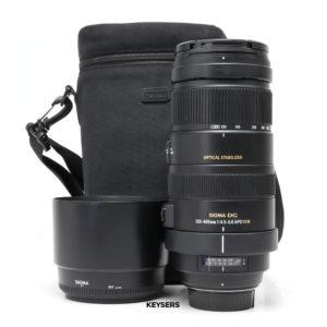 Sigma 120-400mm f4.5-5.6 APO DG OS HSM Lens (Nikon Mount)