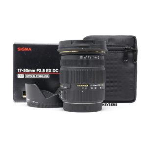 Sigma 17-50mm f2.8 EX DC OS Lens (Canon Mount)