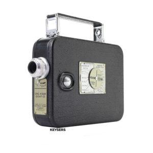 Ciné-Kodak Eight -25 Video Camera   Kodak Anastigmat 13mm f2.8 Lens (8mm)